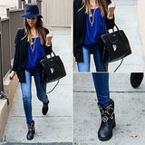 Jessica Alba Shows Her Cool-Girl Style