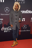 Kendrick Lamar looked cozy at the ESPN party.