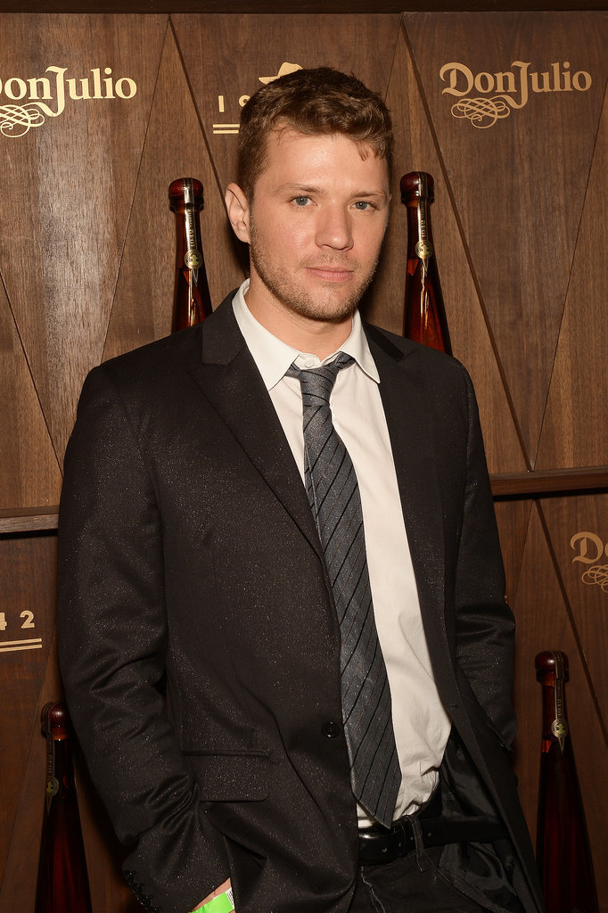 Ryan Phillippe made an appearance at the Tequila Don Julio 1942 party.