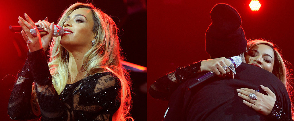 Beyoncé and Jay Z Surprise Fans With a Supersexy Duet