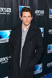 James Marsden brought his handsome self to the DirecTV party.