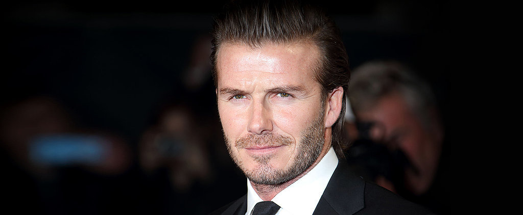 Turns Out, David Beckham Loves Shoes Just as Much as We Do!