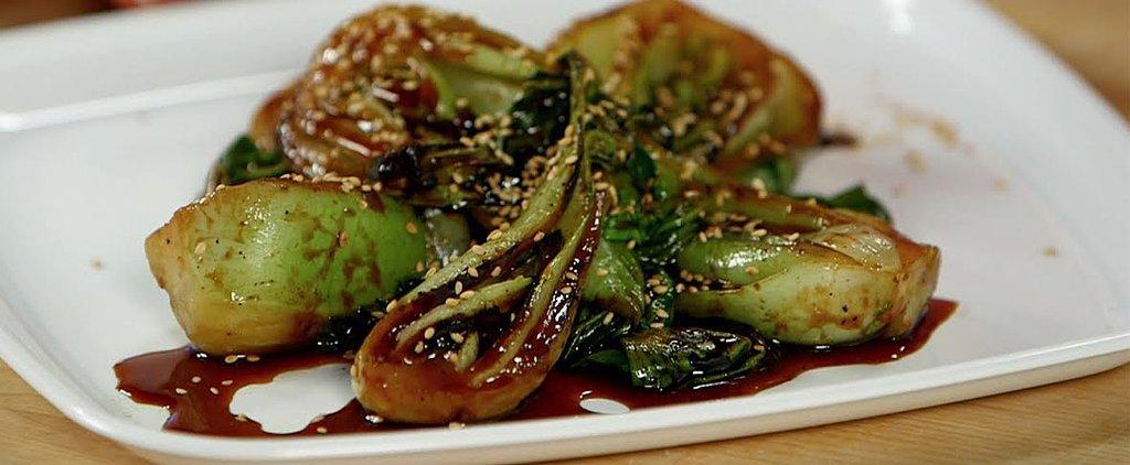 A Sriracha-y Side Dish Starring Bok Choy