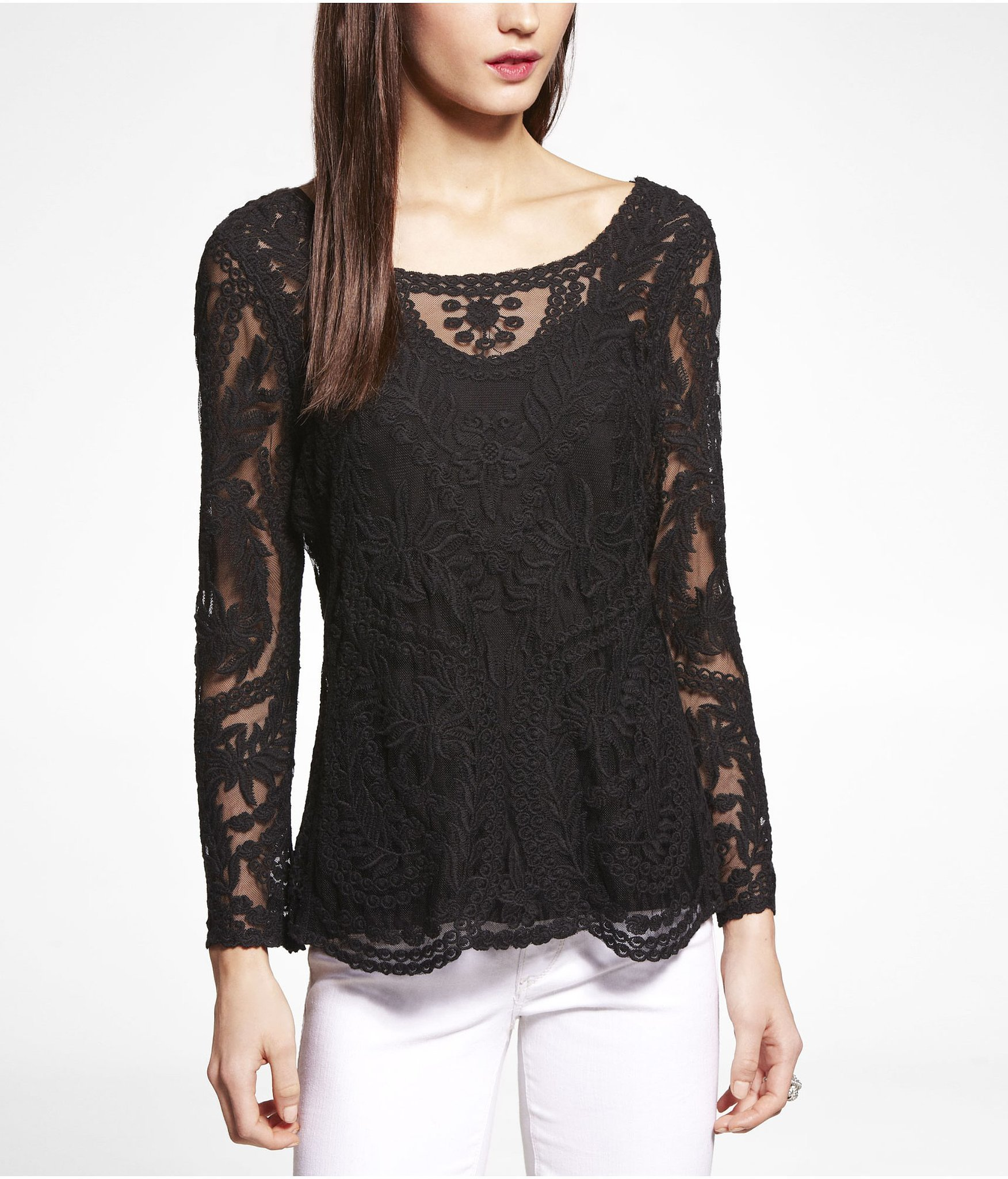 express lace top 50 date night finds that cost less than