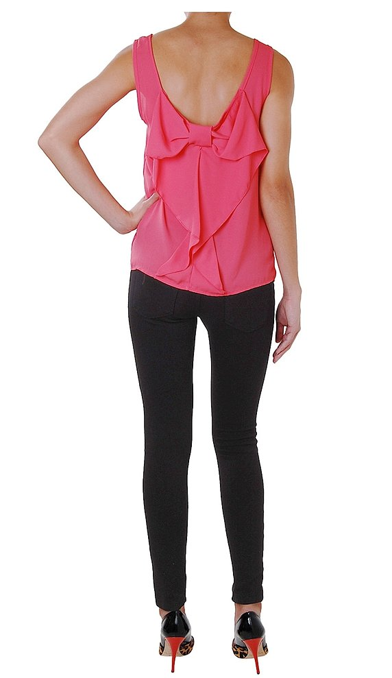 Humble Chic Bow Back Top