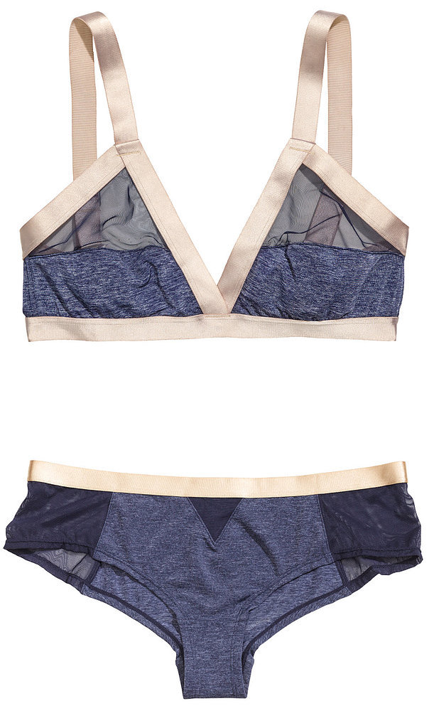 H&M Triangle Bra and Brief Set