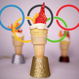 Olympic Torch Cupcakes Recipe | Video