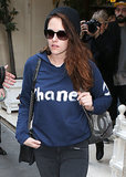 Kristen Stewart Can't Get Enough Chanel