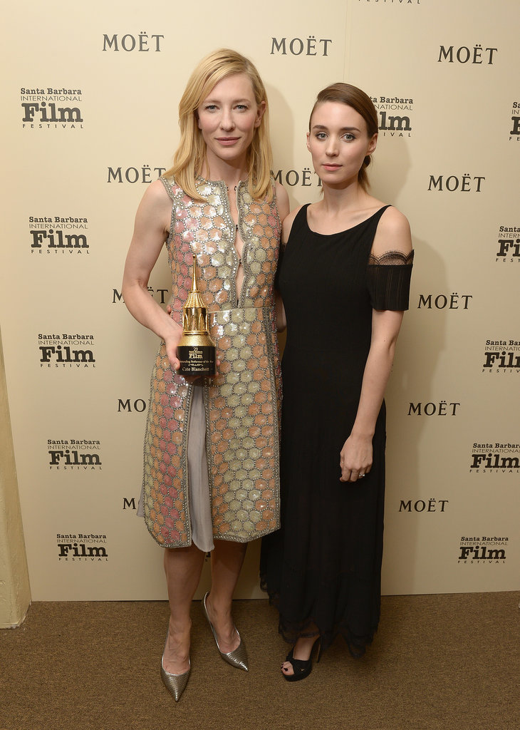 Cate Blanchett and Rooney Mara