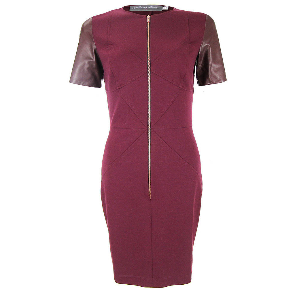 Zipper Front Polly Dress