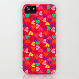Scribble heart case ($35) for iPhone models and Samsung Galaxy S4