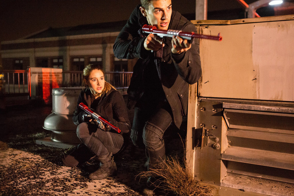 The New Divergent Pictures Are Even More Intense and Emotional