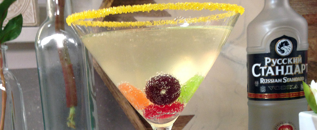 Give Sochi a Proper Send-Off With an Olympic-Rings Cocktail