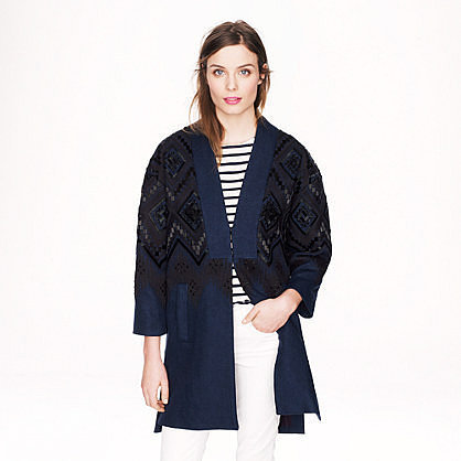 J.Crew Collection Beaded Topcoat ($1,100)