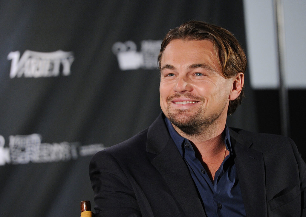 On Tuesday, Leonardo DiCaprio hosted a screening of The Wolf of Wall Street with Variety in NYC.