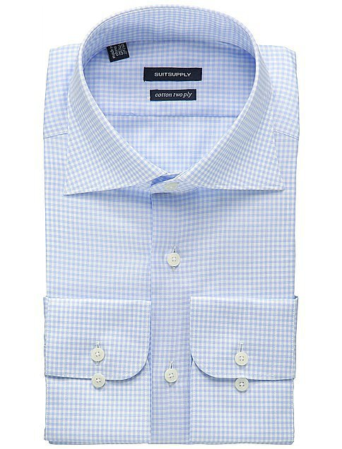 Suit Supply Light Blue Shirt ($79)