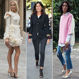 Street Style Stars at Fashion Week