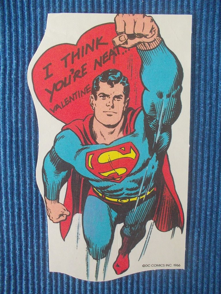 "This Superman comic ($7) from 1966 takes it way back, as evidenced by the use of the word ""neat."""