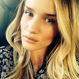 Rosie Huntington-Whiteley's serious selfie made us feel like she was looking into our soul. Source: Instagram user rosiehw