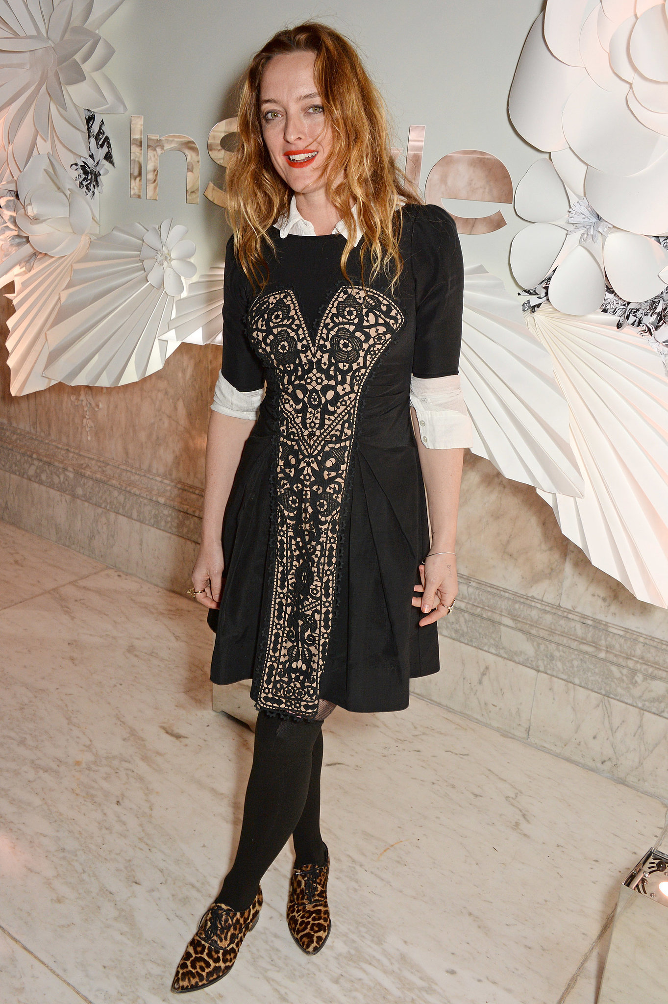 Alice Temperley at InStyle's Best of British Talent celebration in London.