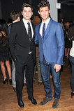 Models Sean O'Pry and Garrett Neff at Details' March 2014 cover party.