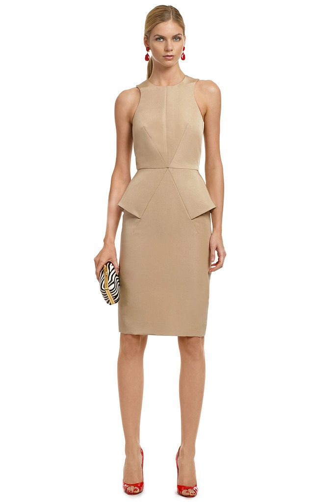 Cushnie et Ochs Nude Dress