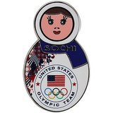 Sochi Nesting Doll Pin