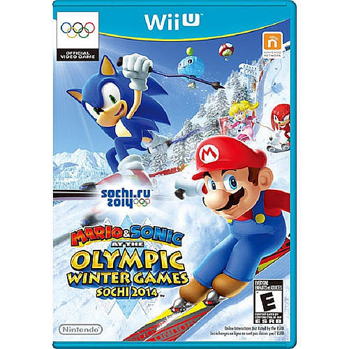 Mario & Sonic at the Sochi 2014 Winter Olympic Games For Nintendo Wii U