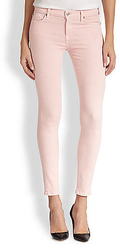 7 For All Mankind Pink Jeans