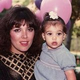 Kim wished Kris Jenner a happy birthday with this cute photo! Source: Instagram user kimkardashian