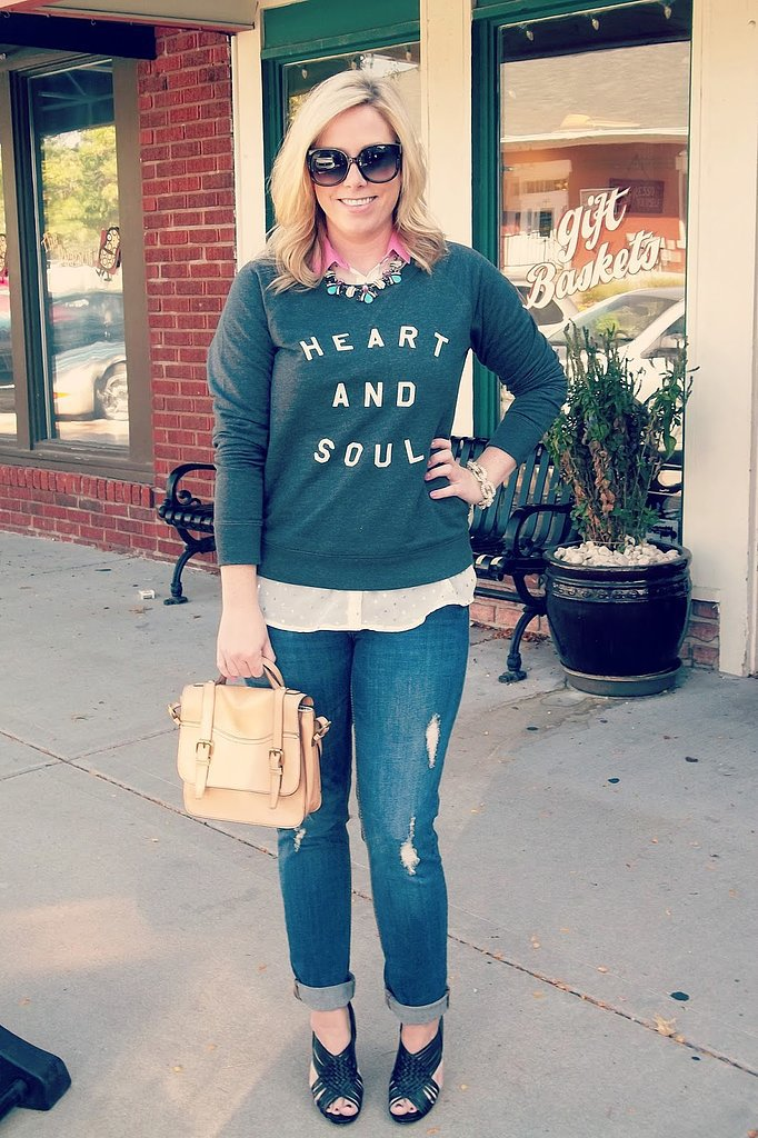 Congrats, Jana Style Blog! Your sweatshirt says it all.