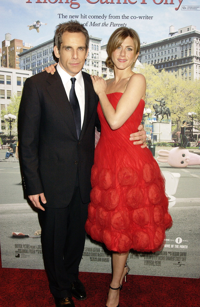 She lit up the red carpet with Ben Stiller at the London premiere of Along Came Polly in February 2004.