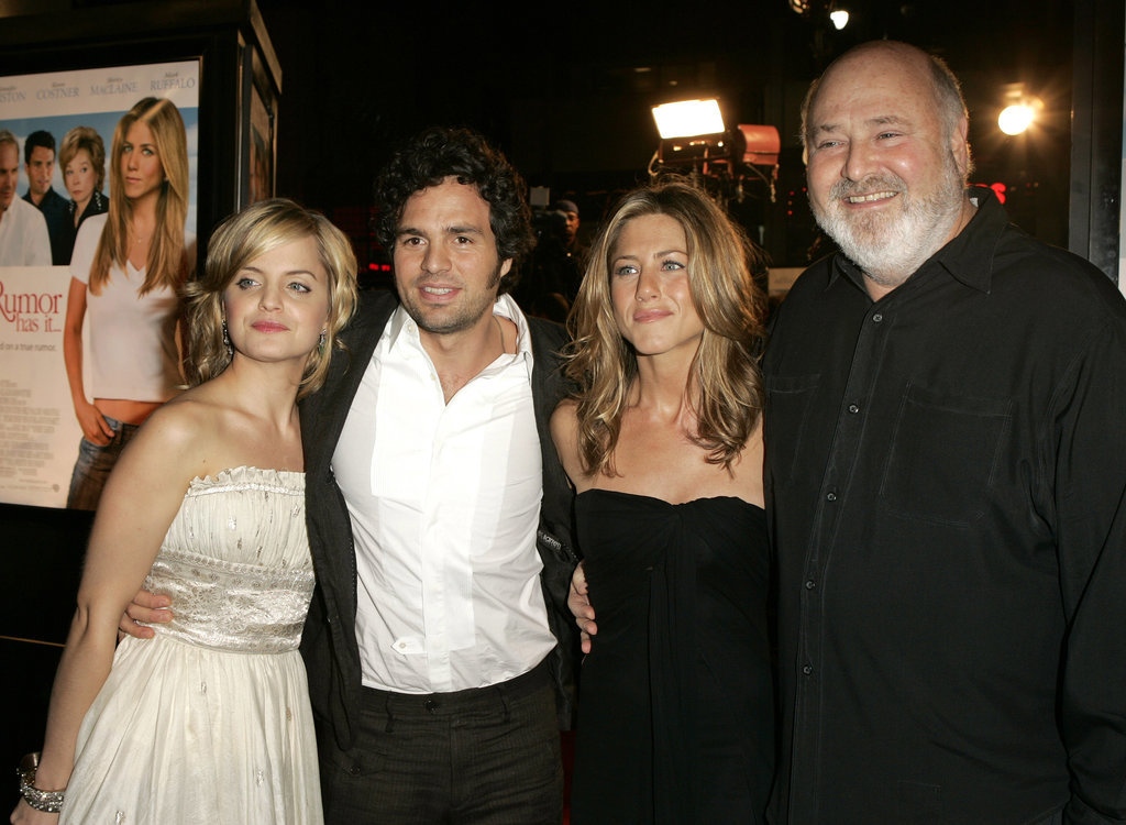 Jennifer walked the red carpet with her Rumor Has It costars Mena Suvari, Mark Ruffalo, and Rob Reiner at the film's LA premiere in December 2005.