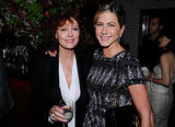 She hung out with Susan Sarandon at the Artists For Haiti dinner in NYC back in September 2011.