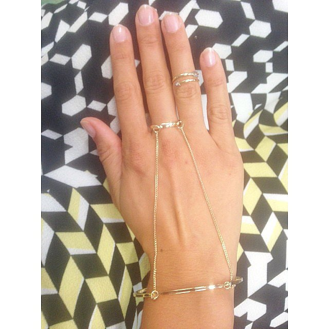 Lovisa knows a thing or two about adorning the body, and this piece looks so fab on the hand of our fashion editor Jasmine. If this is the future of hand cuffs, won't somebody arrest us?