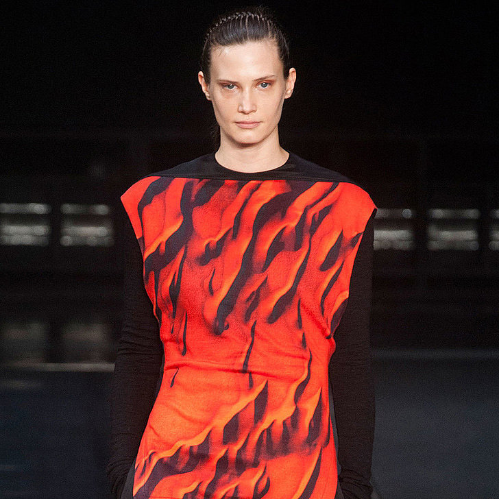 What's Black and White and Red All Over? Helmut Lang Fall 2014