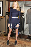 Lindsay Ellingson at Berluti's Madison Avenue store opening.