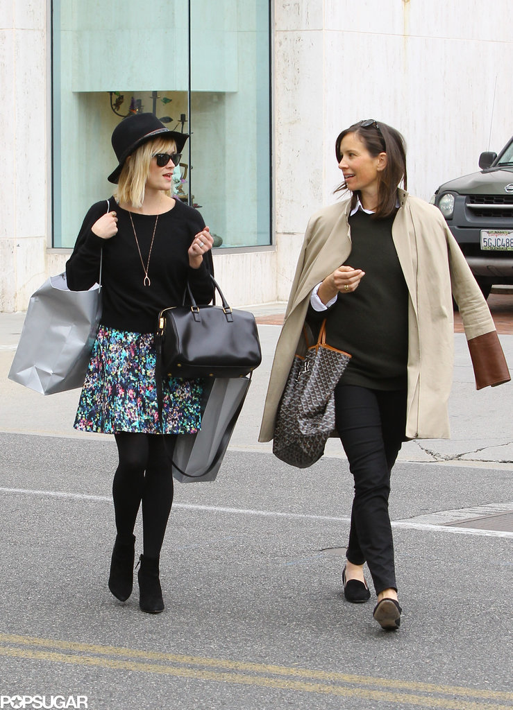 Reese Witherspoon went shopping with a friend in LA on Thursday.