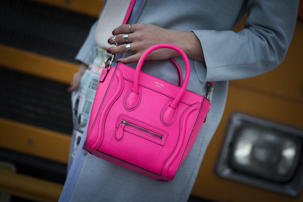 We have a serious crush on this little pink Céline.