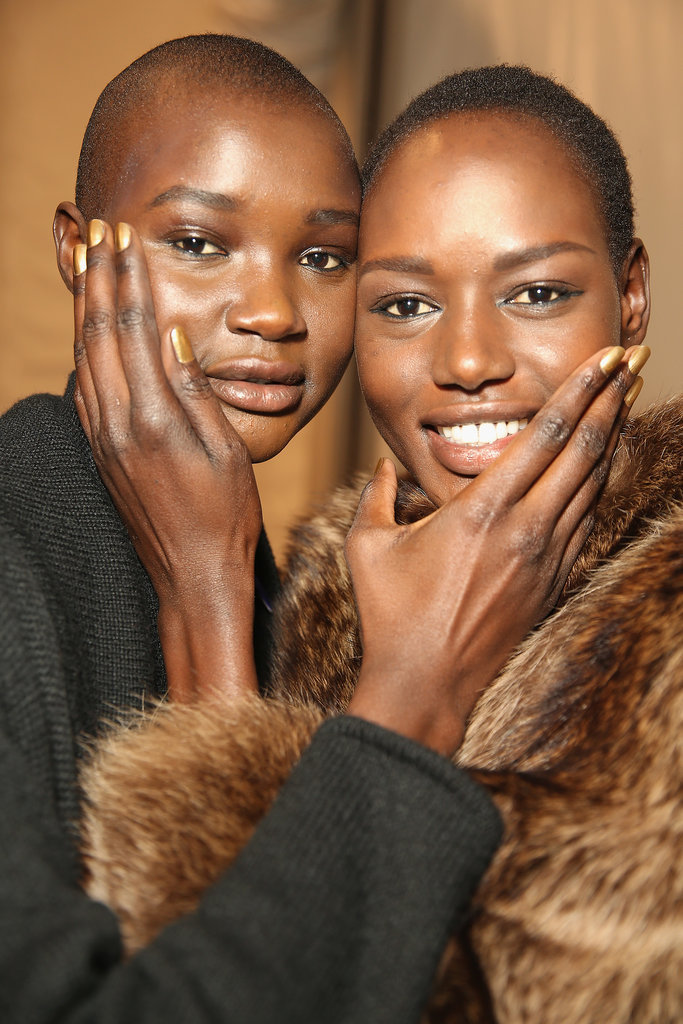 There Was a Golden Explosion Backstage at Mara Hoffman