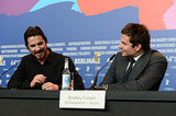Christian and Bradley sat next to each other at their press conference on Friday.