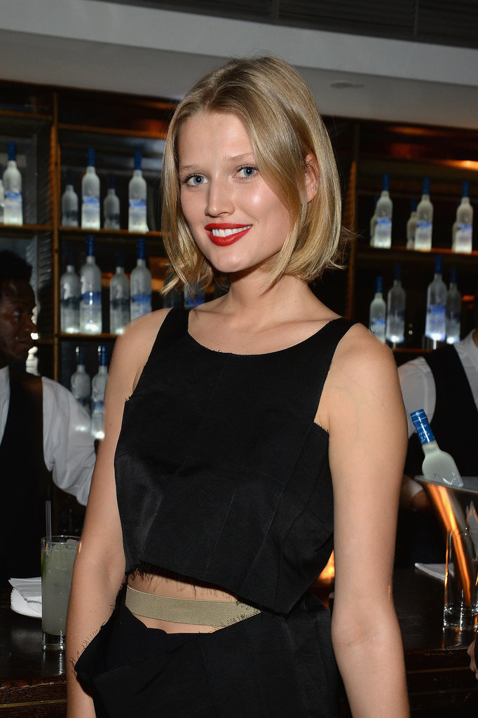 Toni hit up the American Hustle afterparty at Soho House Berlin on Friday.