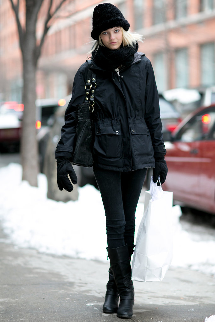 Bundling up doesn't mean hiding your style.