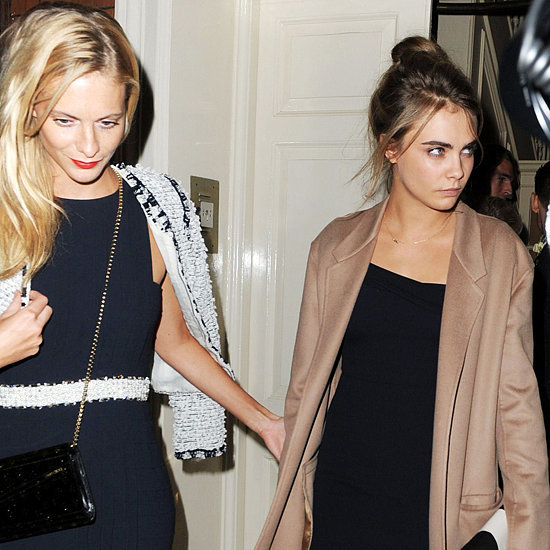 Poppy & Cara Delevingne At Chloe Delevingne's London Wedding