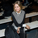Olivia Palermo at Tibi Fall 2014 Fashion Show | Video