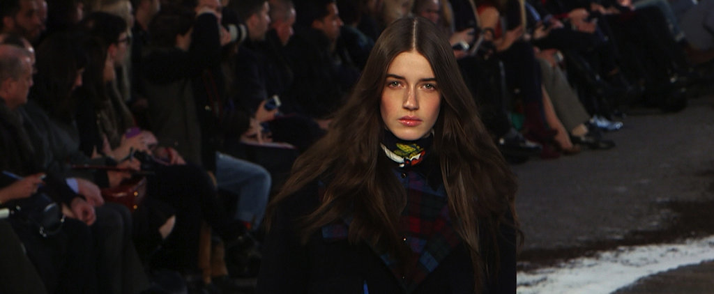 Watch Tommy Hilfiger Turn a Runway Into a Ski Chalet