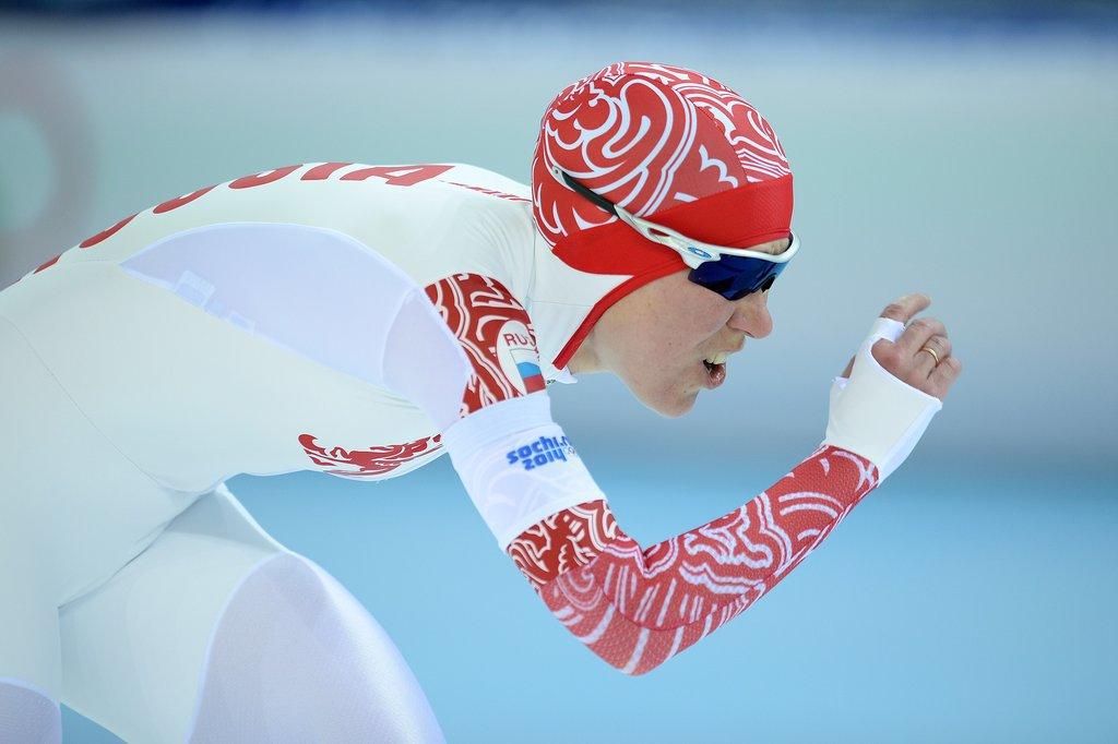 Olga Graf Sped to a Bronze Medal