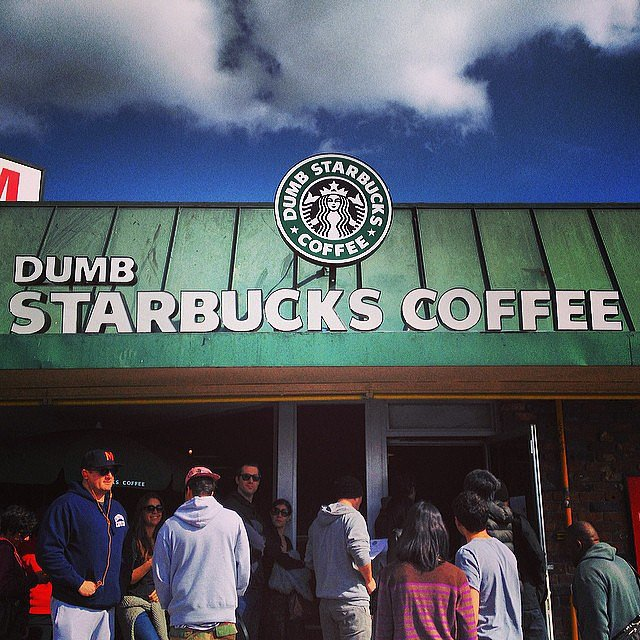 Blue Skies and Dumb Starbucks
