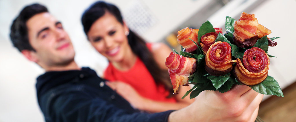 Make a Beautiful Bouquet of . . . Chocolate Bacon Roses