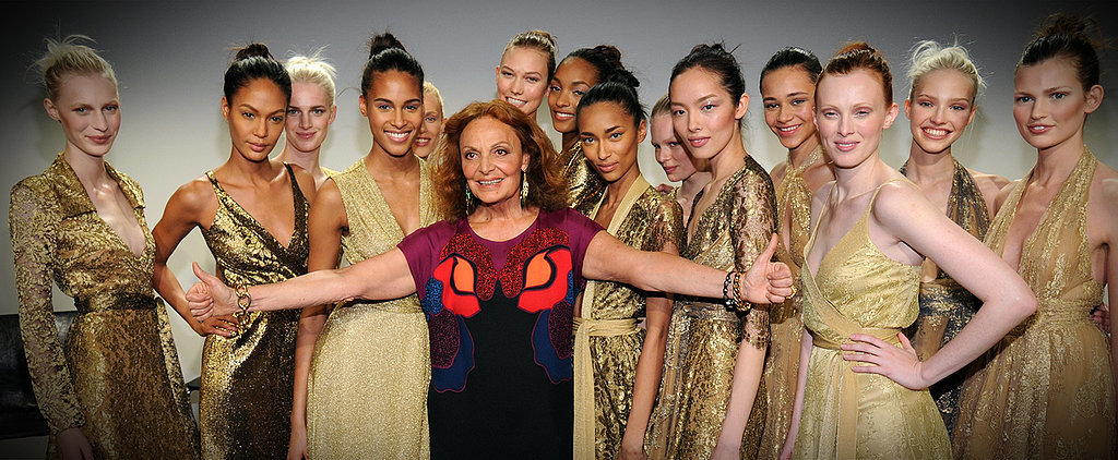 DVF's Iconic Wrap Dress Was Inspired by Ballerinas!